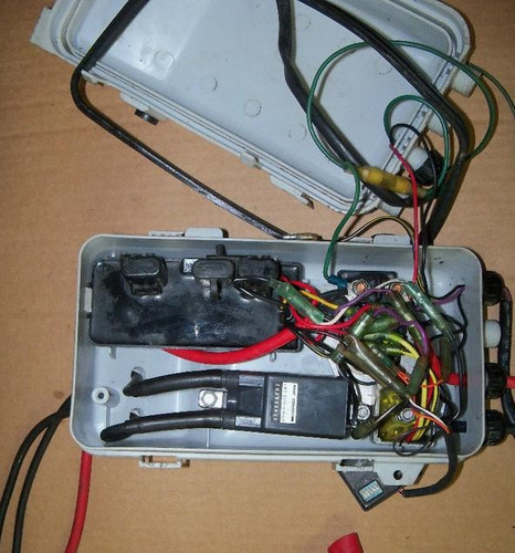 peças jet ski - caixa eletrica completa -sp-spi-spx