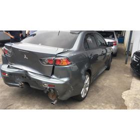 Peças Mitsubishi Lancer 2013 Motor Caixa De Cambio Sucata