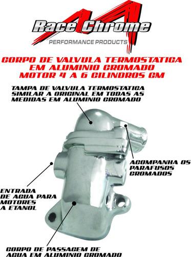 peças opala - tampa + corpo da valvula termostatica 4cc, 6cc