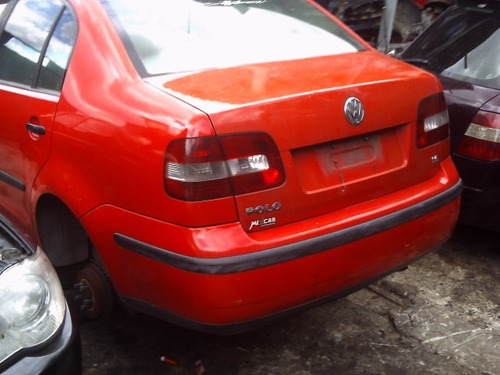 peças p/ polo sedan porta dianteira vidro porta traseira etc