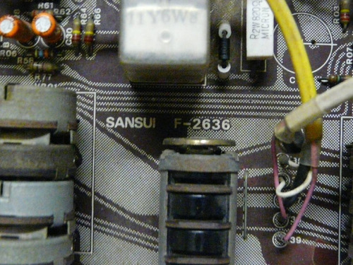 peças receiver sansui qrx-9001 placa board volume f-2636