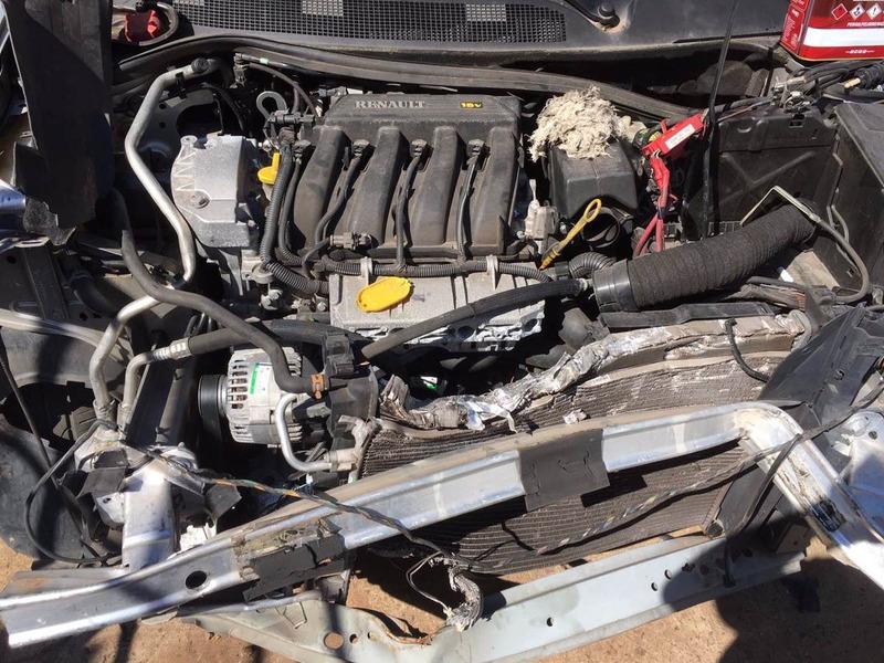 peças sucata renault megane 2012 motor cambio com nf-e