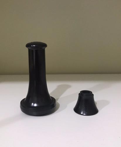 peças telefone antigo - bocal e ouvido - original baquelite