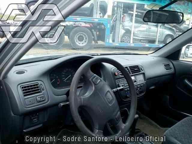 Peças Usadas Honda Civic Lx 1998 Sucata , Motor, Cambio