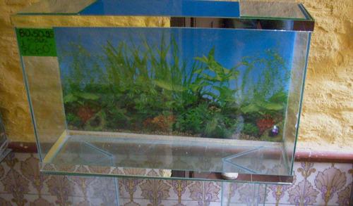 pecera 120 litros con garantía  acuario central