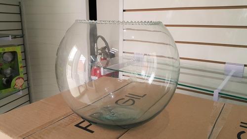 pecera de cristal # 10 c/ olanes arriba (25cmx20cm)