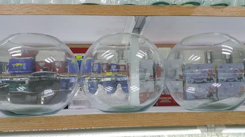 pecera de cristal # 12 ideal para decoracion (30cmx24cm)