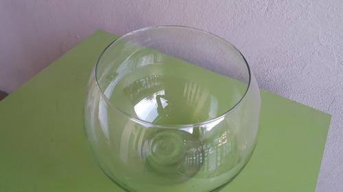 pecera de cristal # 8 ideal para decoracion (19.5cmx16cm)