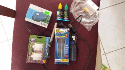 pecera o tortuguera lista equipada kit equipado + accesorios