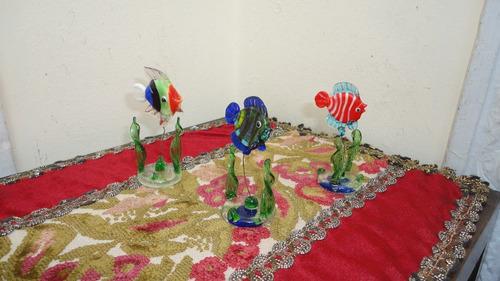 peces cristal murano miniaturas divinos impecables miralos