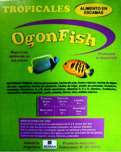 peces escamas alimento