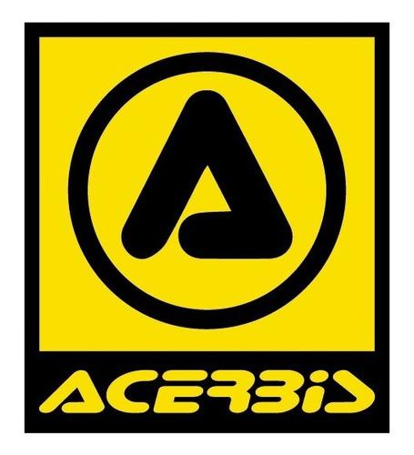 pechera acerbis profile chest protector amarillo fluo yuhmak