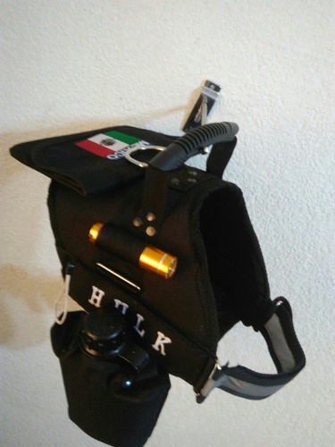 pechera k9 personalizada cantimploras alforja lámpara envío