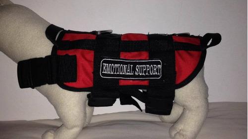 pechera para perros apoyo emocional
