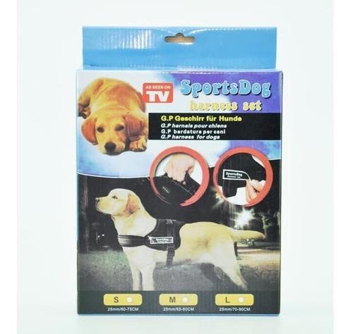 pechera para perros arnes sports dog harness set rosado