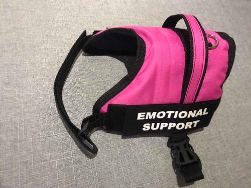 pecheras arnes chaleco apoyo emocional soporte para mascotas