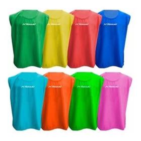 Pecheras Nassau Cerradas Pack 10 Unidades Futbol Colores