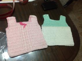 fc6b24c9f46 Chaleco De Bebe Tejido A Crochet - Ropa y Calzado para Bebés en Mercado  Libre Argentina