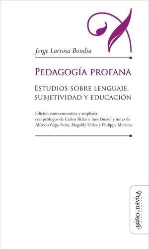 pedagogía profana