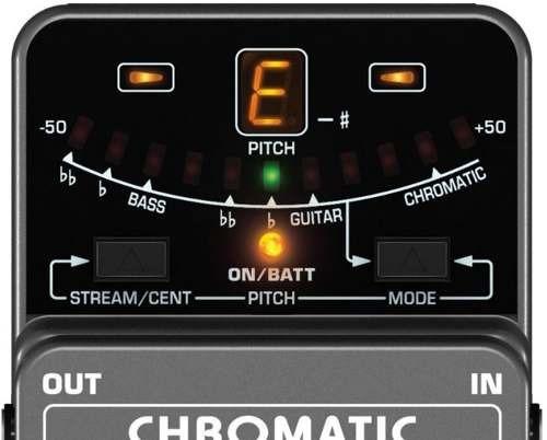 pedal afinador behringer tu300 - c/nf e garantia proshows