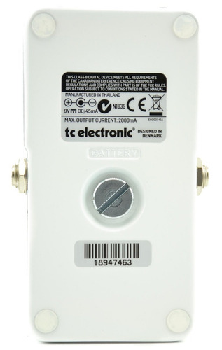 pedal afinador chromatic polytune 3 - tc electronic +nf