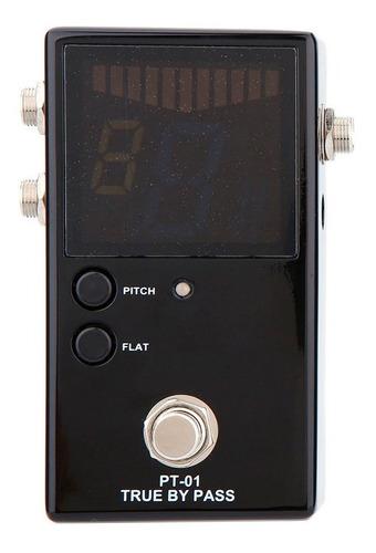 pedal afinador cromatico pt-01 true bypass  promo