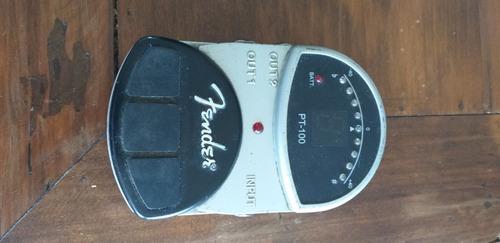 pedal afinador fender pt-100