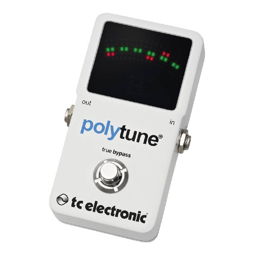 pedal afinador polytune 2 - tc electronic