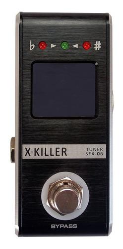 pedal afinador santo angelo x-killer sfx-06 + cabo promoção