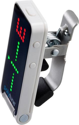 pedal afinador tc electronic poly tune clip pantalla led