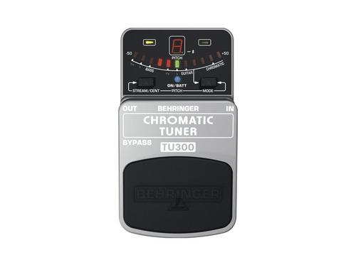 pedal afinador tu300 - behringer + nf + garantia