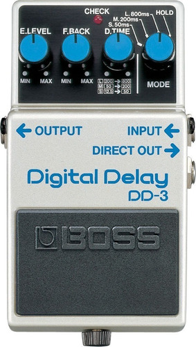 pedal analógico dd-3 digital delay boss