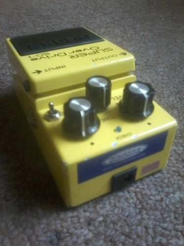 pedal analogo boss sd-1 keeley mod