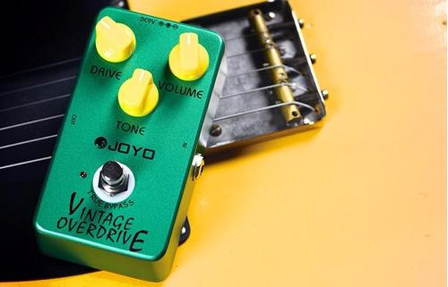 pedal analogo joyo vintage overdrive