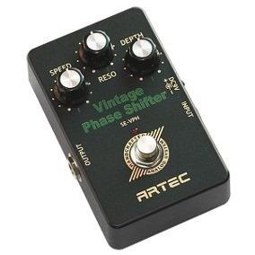 pedal artec vintage phaser shifter sevph