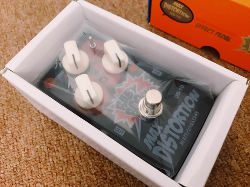 pedal baby boom - max distortion ds-10