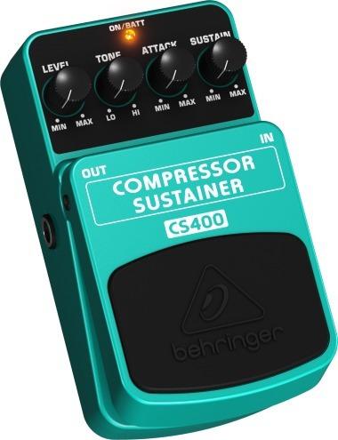 pedal behringer cs400 compressor sustainer nota fiscal
