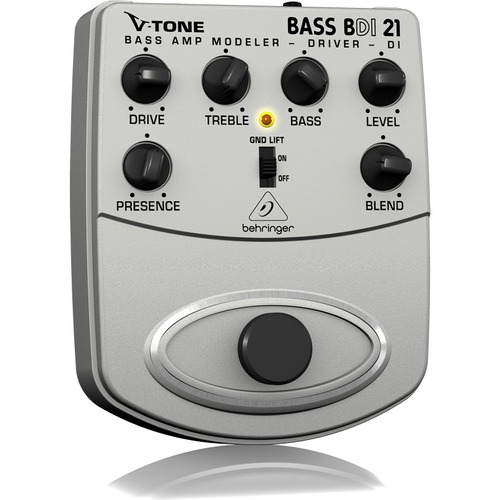 pedal behringer para baixo v-tone bdi21