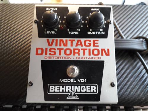 pedal behringer vintage distortion