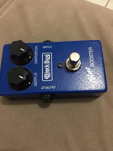 pedal blue booster black bug