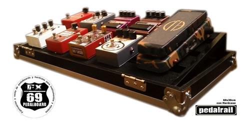 pedal board rail 60x30cm (guitarra gibson fender mxr boss)