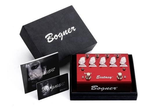 pedal bogner ecstasy red overdrive/distortion c/ nf-e