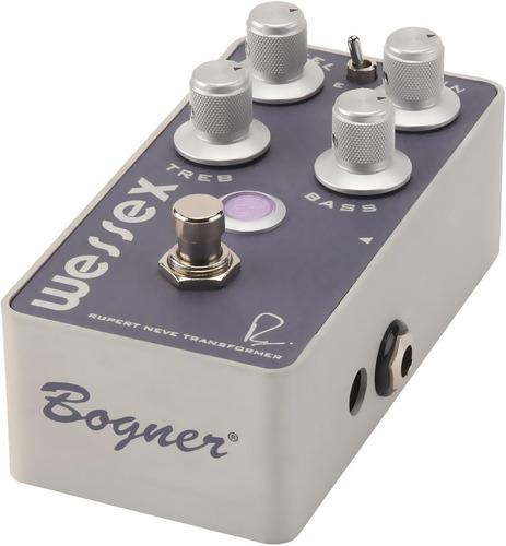pedal bogner wessex overdrive c/ nota fiscal & garantia