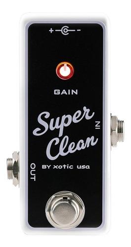 pedal boost/buffer xotic effects super clean usa c/ nf-e