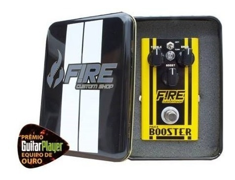 pedal booster - fire custom shop - pedal de booster