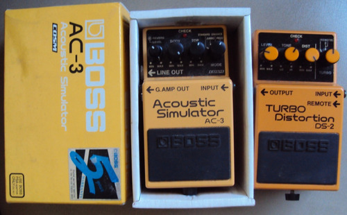 pedal boss ac-3 y ds-2