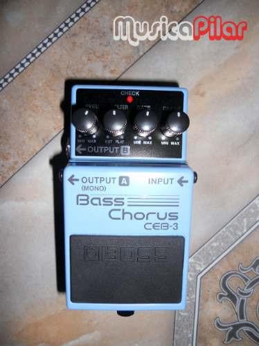 pedal boss bajo ceb3 bass chorus musicapilar