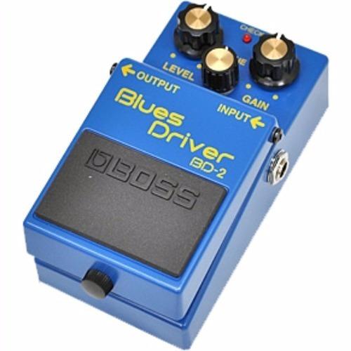pedal boss bd 2 blues driver bd2 - loja credenciada kadu som