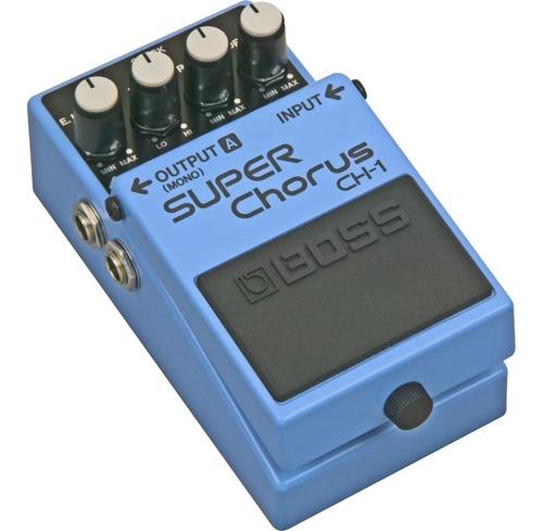 pedal boss ch 1 super chorus guitarra instrumen musica pilar