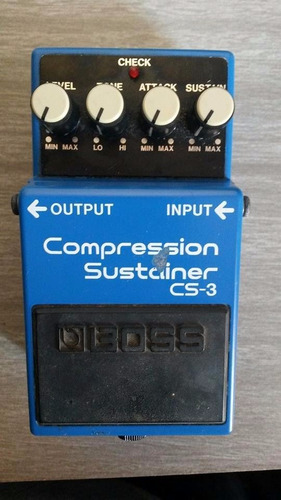 pedal boss cs3 compressor/sustainer